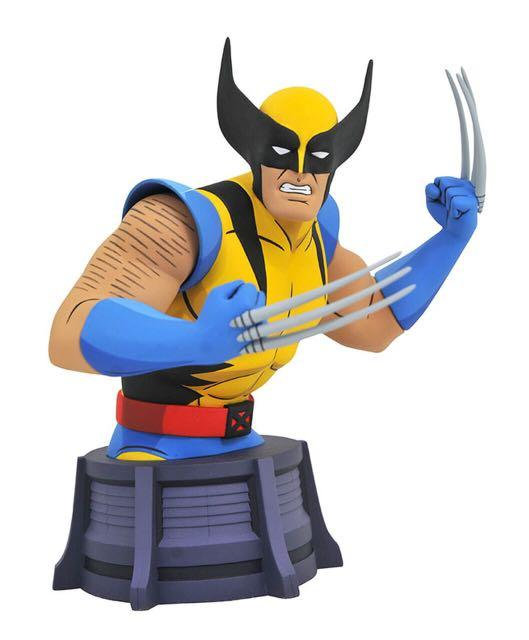Diamond Select Marvel Animated X-Men Wolverine Resin Mini-Bust