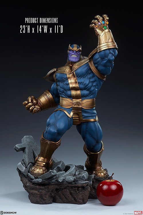 Sideshow Avengers Assemble Statue Collection - Thanos 1/5 Statue (Modern)