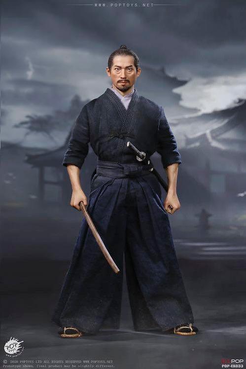 POPTOYS EX033 Brave Samurai-UJIO Kendo Version 1/6 Figure