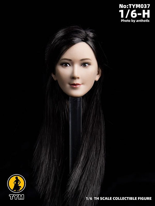 Technic Toys TYM037 Asian Ling Ling 1/6 Female Headsculpt