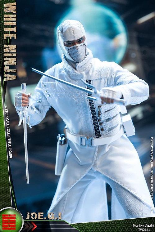 TWTOYS TW2141 White Ninja JOE.G.I 1/12 Figure