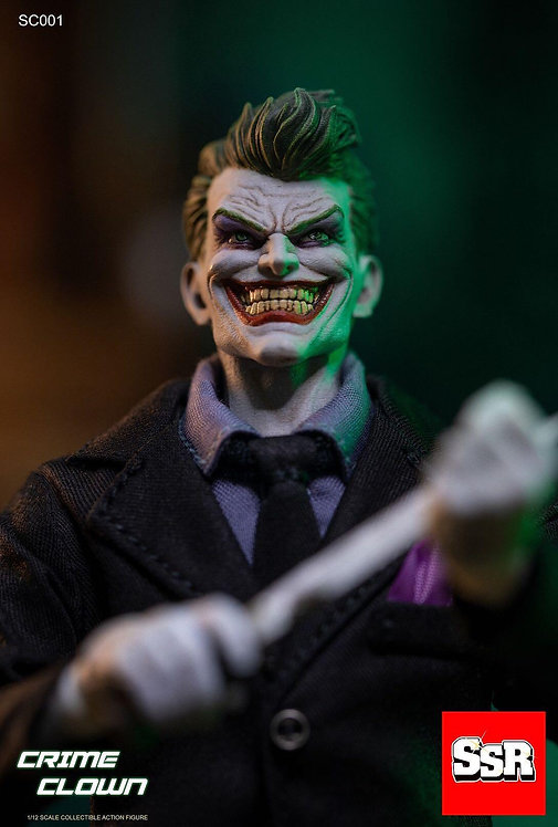 SSR Crime Clown Deluxe Version 1/12 Figure