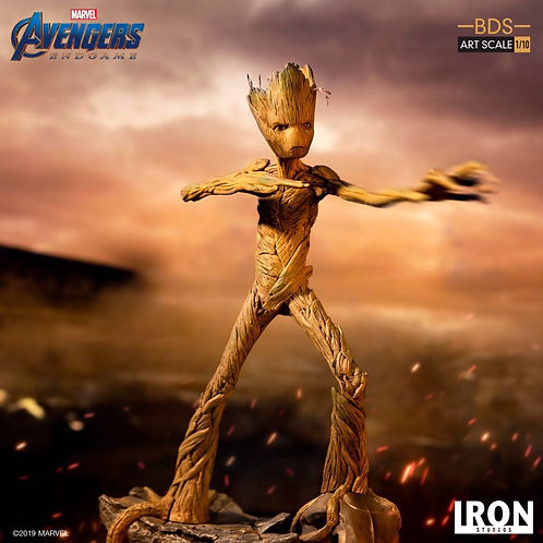 Iron Studios 1/10 Art Scale Endgame Groot Statue