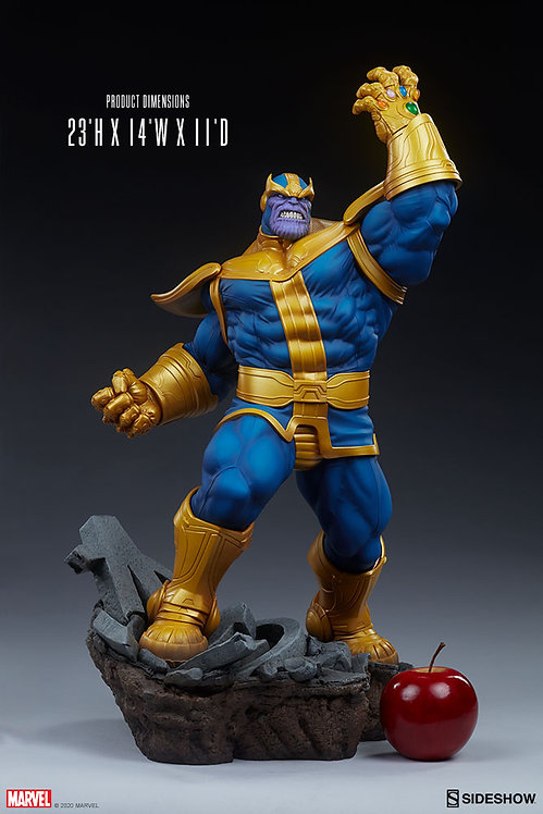 Sideshow Avengers Assemble Statue Collection - Thanos 1/5 Statue (Classic)