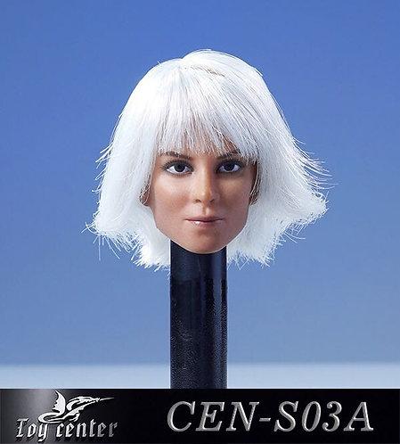 Toy Center CEN-S03A 1/6 Normal Eyes - European Female Headsculpt