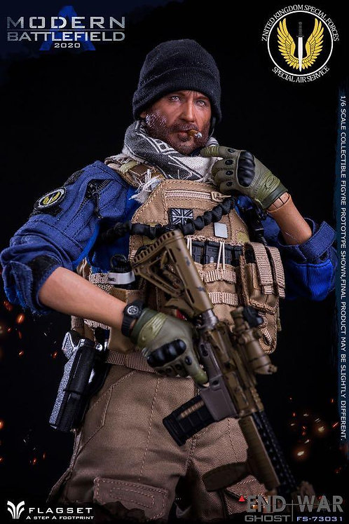 FLAGSET FS-73031 End War Ghost Modern Battlefield 2020 A 1/6 Figure