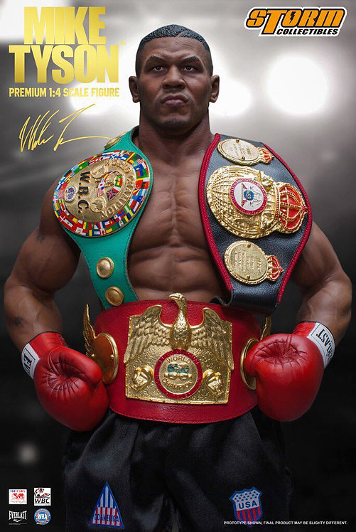 Storm Collectibles 1/4 Scale Mike Tyson Premium Statue
