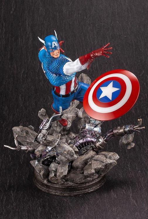 Kotobukiya Captain America Avengers Fine Art 1/6 Statue