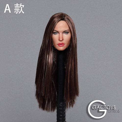GACTOYS GC029A European Female Star 1/6 Headsculpt