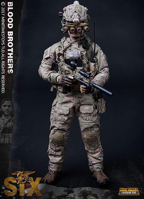 Mini Times Toys MT-M010 Blood Brothers The Seal Team Six 1/6 Figure