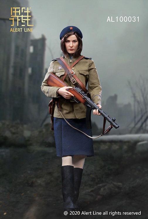 Alert Line AL100031 WWII NKVD Soviet Female Soldier 1/6 Figure