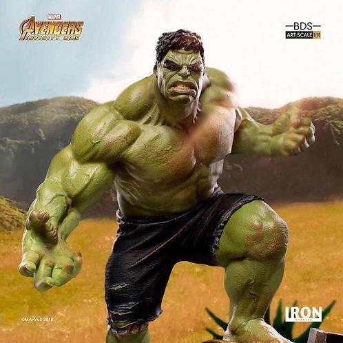 Iron Studios 1/10 art scale infinity war Hulk statue