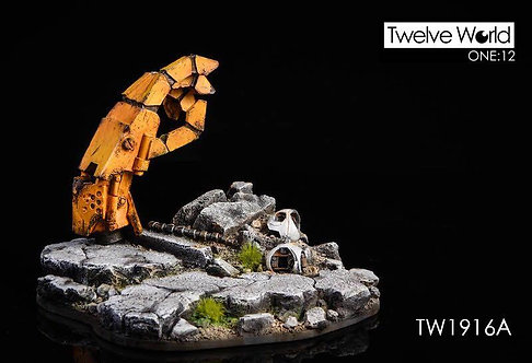 TWTOYS TW1916A - 1/12 The Ruins of The Battlefield