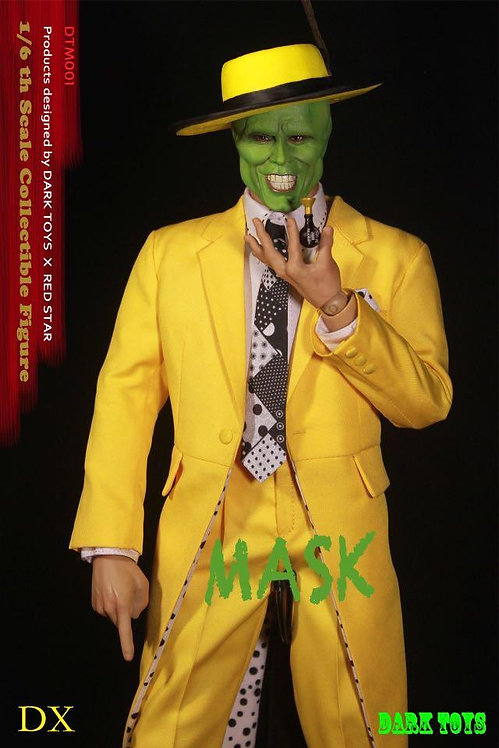 DARK TOYS DTM001 MASK Deluxe Edition (DX) 1/6 Figure