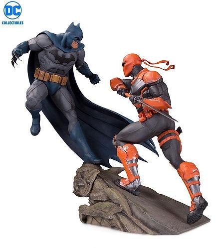 DC Collectibles - Batman vs. Deathstroke Battle Resin Statue