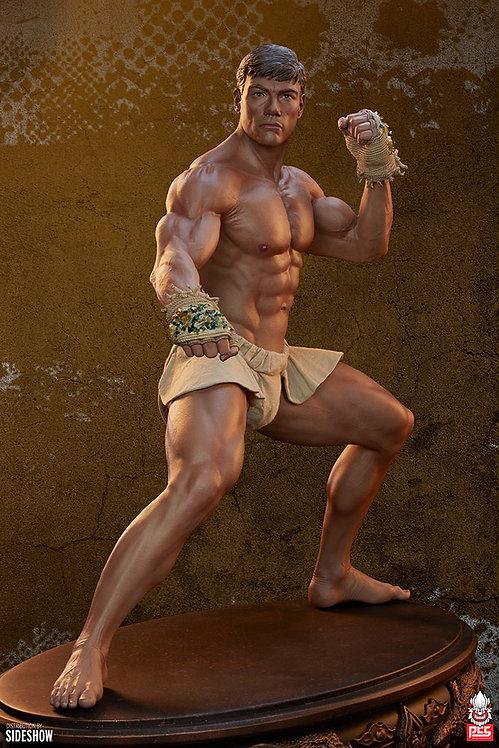 Sideshow Jean-Claude Van Damme: Muay Thai 1:3 Scale Tribute Statue by PCS