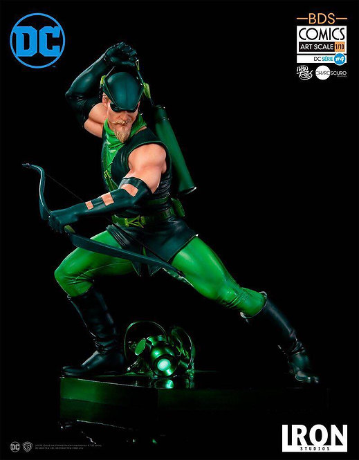 Iron Studios 1/10 art scale DC Comics Green Arrow statue by Ivan Reis