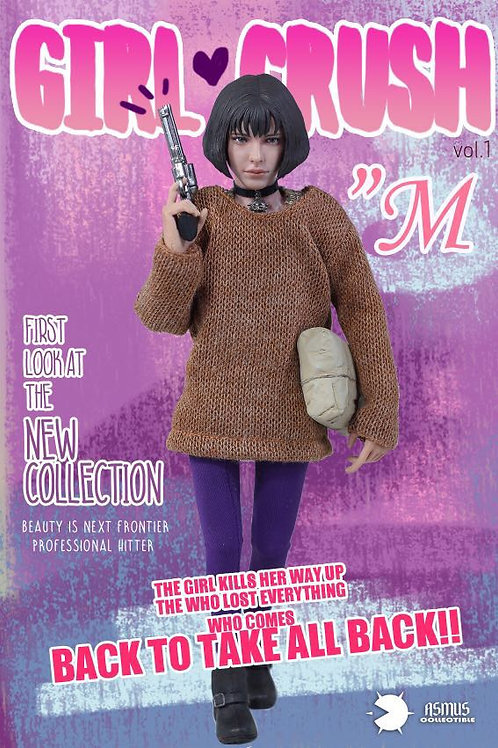 Asmus Toys Girl Crush Series GC001A: M 1/6 Action Figure