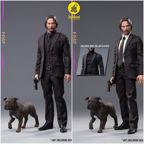 Ace Toyz AT010-A/B Dog Lover Suit 1/6 Costume Set