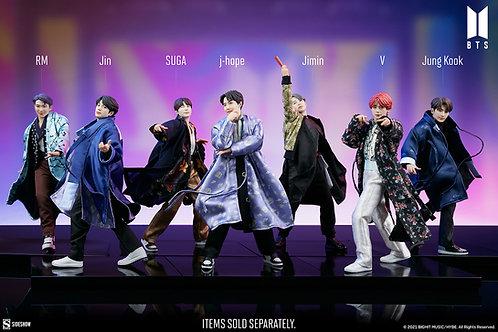 Sideshow BTS Idol Collection Deluxe Statue: Jung Kook, V, Jimin, SUGA, Jin, j-ho