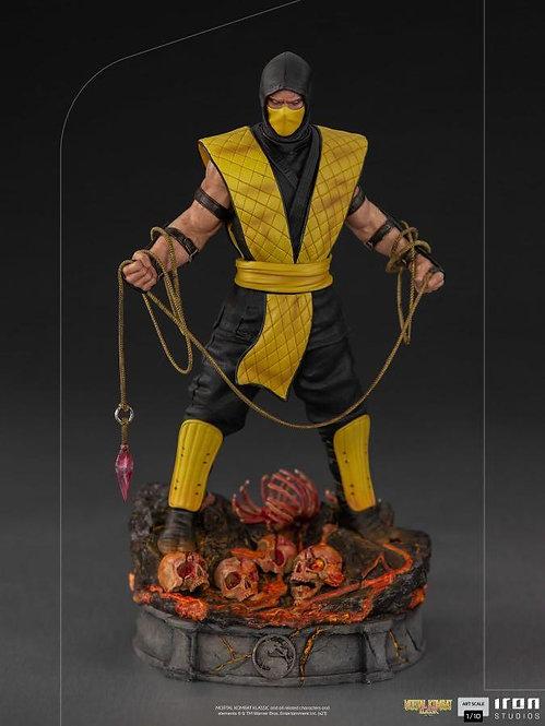 Iron Studios Mortal Kombat 1/10 Art Scale Scorpion Statue