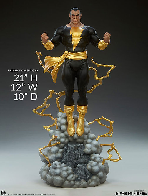 Sideshow Black Adam Maquette by Tweeterhead