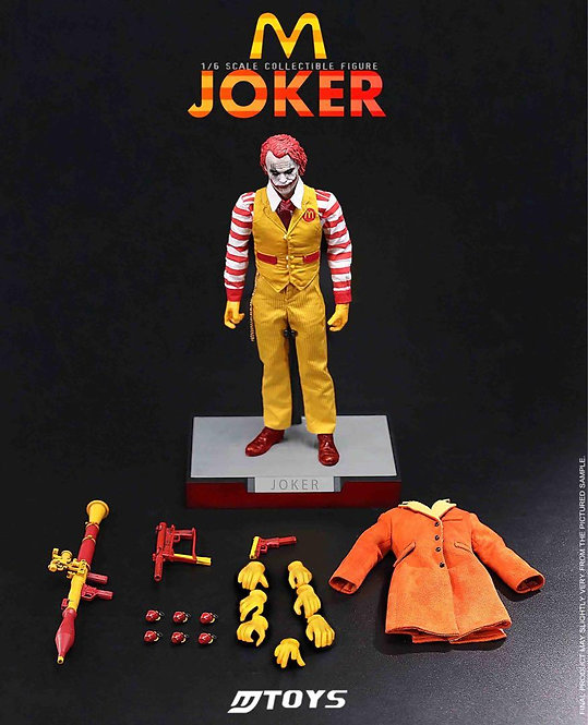 MTOYS MS018 McDonald's Joker 1/6 Figure