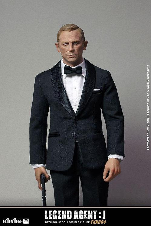 ELEVEN x KAI STUDIO EXK004 Legend Agent : J 1/6 Figure