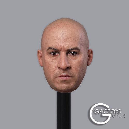 GACTOYS GC030 American Tough Guy Superstar 1/6 Headsculpt
