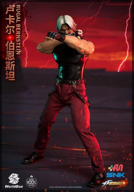 World Box KF102 The King Of Fighters RUGAL 1/6 Figure (Normal)