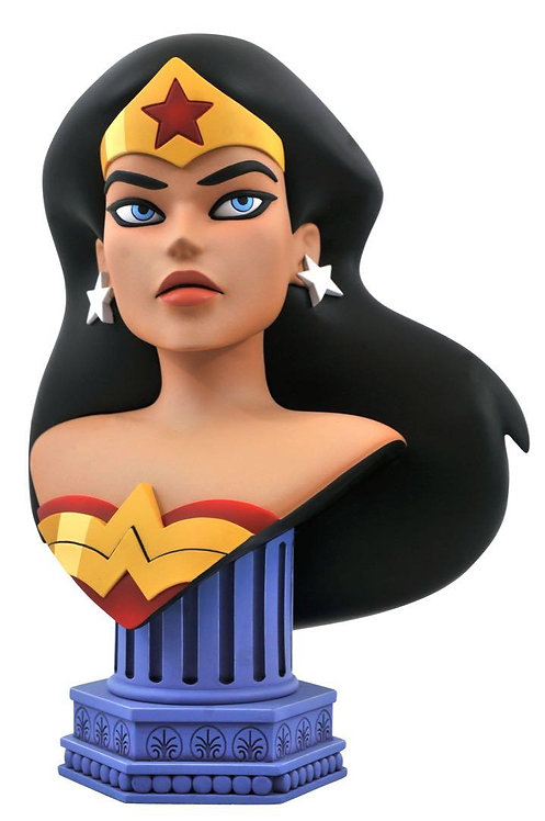 Diamond Select Justice League Animated Legends in 3D Wonder Woman 1:2 Scale Bust