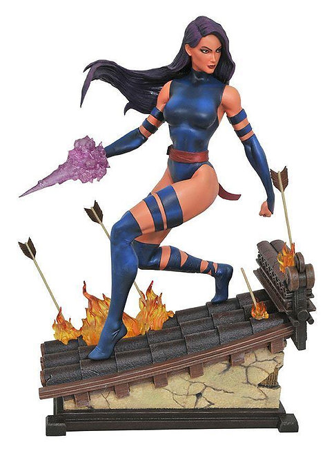 Diamond Select Marvel Premier Collection Psylocke Statue