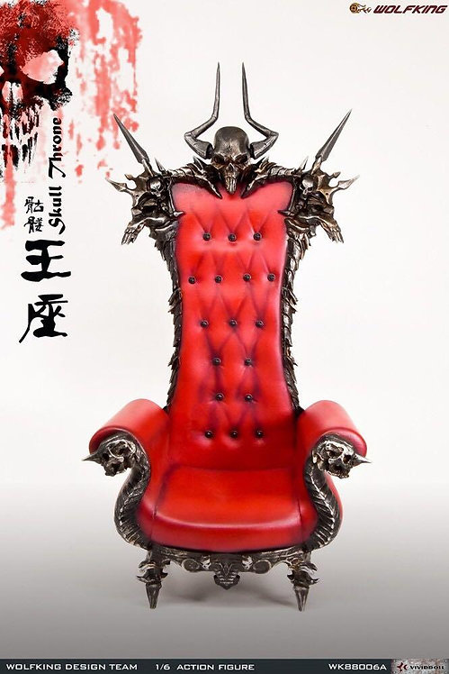 WOLFKING WK88006A 1/6 Skull Throne Sofa