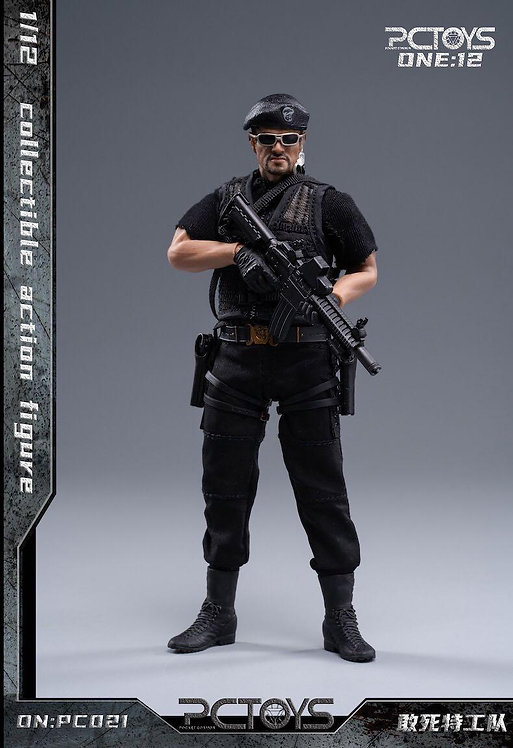 PCTOYS PC021 PMC Team Leader 1/12 Figure