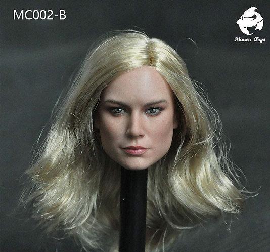 Manco Toys MC002-B Female Headsculpt