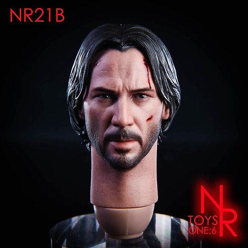 NRTOYS NR21B 1/6 Killing God 2.0 War Damage Headsculpt