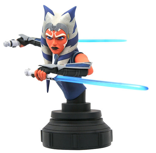 Gentle Giant Star Wars The Clone Wars Ahsoka Tano 1:7 Scale Mini-Bust