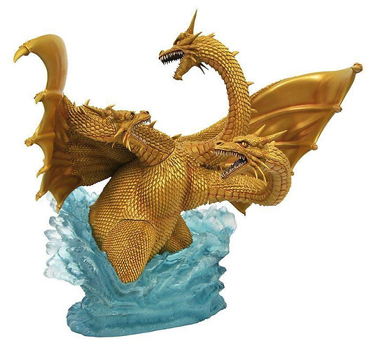 Diamond Select Godzilla Gallery Deluxe King Ghidorah 1991 Statue