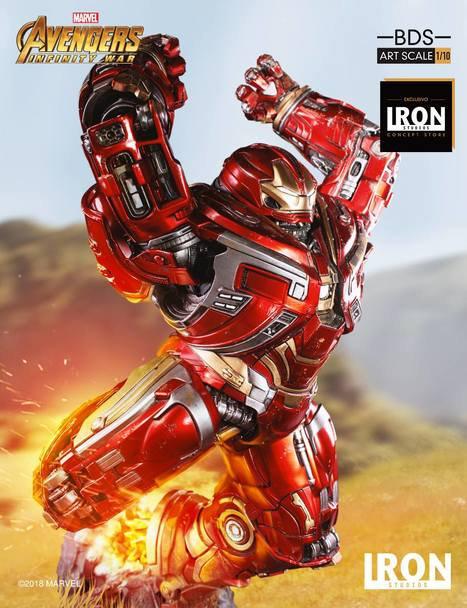 Iron Studios 1/10 art scale Hulkbuster statue