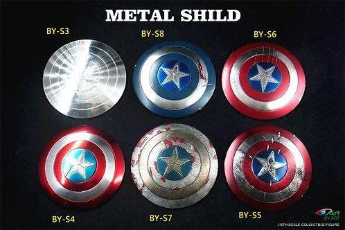 BY-ART 1/6 Diecast Metal Shield