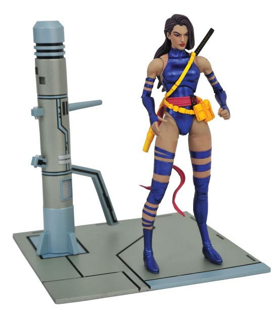 Diamond Select Marvel Select X-Men Psylocke Action Figure