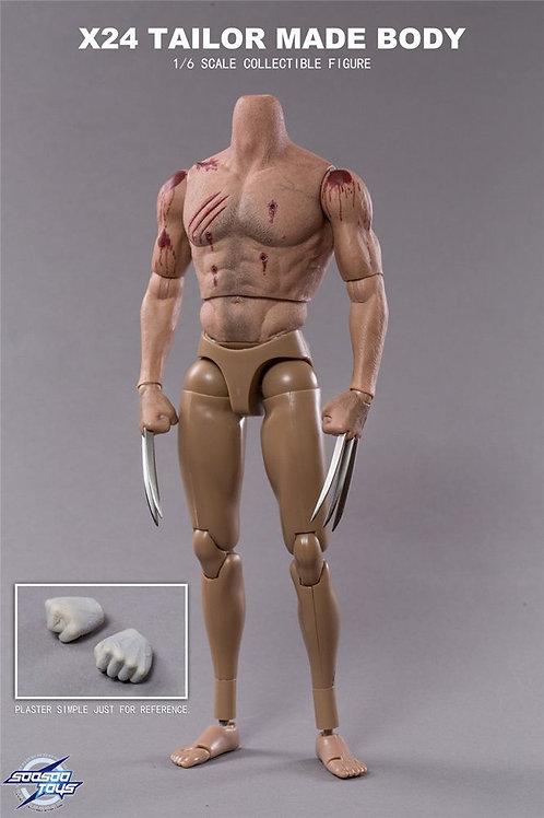 Soosootoys SST004 X24 Logan 1/6 figure w/ extra body