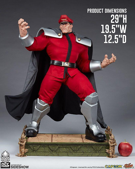 Sideshow M. Bison: Alpha 1:3 Scale Statue by PCS Collectibles