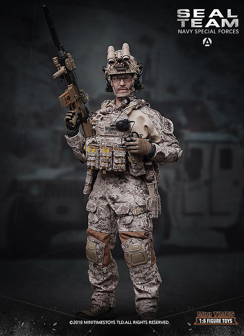 Mini Times MT-M012 Seal Team Navy Special Forces 1/6 Figure