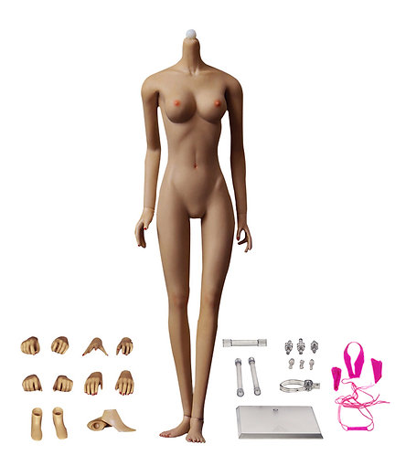 Jiaou JOQ-10C-BS (Wheat Skin) Asian Shape 1/6 Female Seamless Body