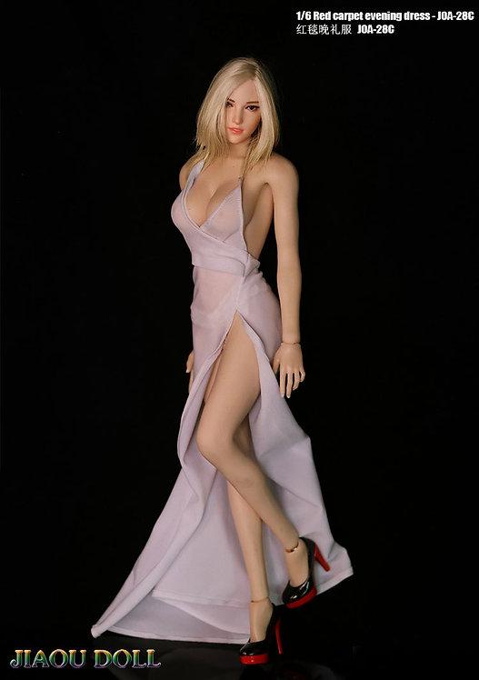 JIAOU JOA-28 1/6 Red Carpet Evening Dress