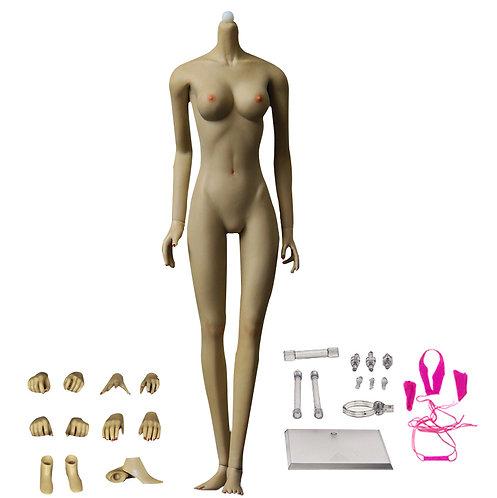 Jiaou JOQ-10C-BM (Brown Skin) Asian Shape 1/6 Female Seamless Body