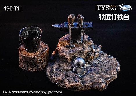 TYStoys 19DT11 - 1/6 Blacksmith's Ironmaking Platform
