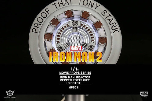 King Arts 1:1 scale MPS031 Pepper Potts Gift Reactor
