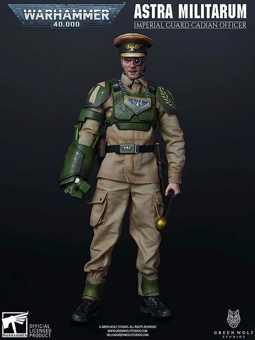 Green Wolf Gear GWG-014 Warhammer 40K Cadian Officer